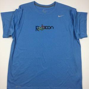Nike Mens Rubicon Dri Fit T Shirt Olympic Rings